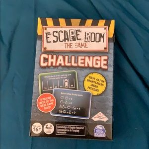 Escape Room the Game challenge card game